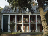 Shadows on the Teche Plantation House  New Iberia  Louisiana  USA