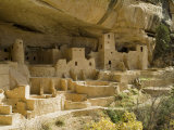 Cliff Palace  Mesa Verde National Park  Unesco World Heritage Site  Colorado  USA