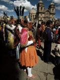 Inti Rayma Festival  Cuzco  Peru  South America