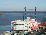 Casino on the Mississippi River  Vicksburg  Mississippi  USA
