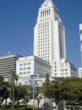 City Hall  Downtown  Los Angeles  California  USA