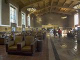 Union Station  Railroad Terminus  Downtown  Los Angeles  California  USA