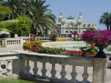Casino and Gardens  Monte Carlo  Monaco