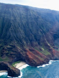 Na Pali  North Coast of the Island of Kauai  Hawaii  USA