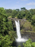 Rainbow Falls Near Hilo  Island of Hawaii (Big Island)  Hawaii  USA