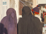 Women Wearing Burkas  Afghanistan