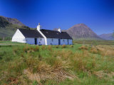 Black Rock Cottage  Glencoe (Glen Coe)  Highlands Region  Scotland  UK