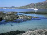 Sanna Beach from Portuairk  Ardnamurchan  Highland Region  Scotland  United Kingdom