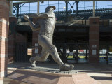 Mickey Mantle  Bricktown Ballpark  Oklahoma City  Oklahoma  USA