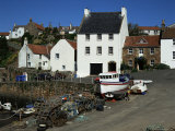Crail Harbour  Neuk of Fife  Scotland  United Kingdom