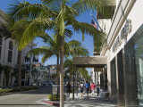 Rodeo Drive  Beverly Hills  California  USA