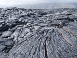 Cooled Lava from Recent Eruption  Kilauea Volcano  Hawaii Volcanoes National Park  Island of Hawaii