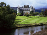 Inveraray Castle  Argyll  Highland Region  Scotland  United Kingdom
