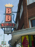 Bb King's Blues Club  Beale Street  Memphis  Tennessee  USA