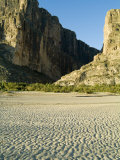 Santa Elena Canyon  Big Bend National Park  Texas  USA