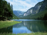 Lac Montriond  Morzine  Rhone Alpes  France