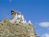 Yumbulagung Castle  Restored Version of the Region's Oldest Building  Tibet  China