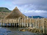 Iron Age Crannog Centre  Loch Tay  Scotland  United Kingdom