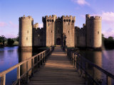 Bodiam Castle  East Sussex  England  United Kingdom