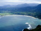 Hanalei Bay  Kauai  Hawaii  United States of America  Pacific  North America