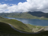 Turquoise Lake  Tibet  China