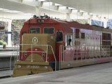 Engine  New Railway Station  Beijing to Lhasa  Lhasa  Tibet  China