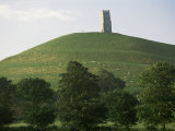 Glastonbury Tor  Somerset  England  United Kingdom