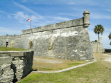 Castillo San Marcos National Monument  St Augustine  Florida  USA