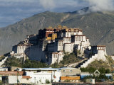 Potala Palace  Former Palace of the Dalai Lama  Unesco World Heritage Site  Lhasa  Tibet  China