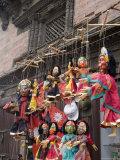 Marionettes  Durbar Square  Kathmandu  Nepal