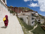 Ganden Monastery  Near Lhasa  Tibet  China