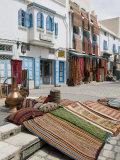 Carpet Market  Kairouan  Tunisia  North Africa  Africa