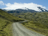 Road to Snaefellsness Mountain  Iceland  Polar Regions
