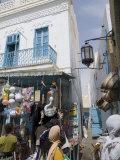 Market  Main Street  Kairouan  Tunisia  North Africa  Africa