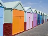 Beach Huts  Hove  Sussex  England  United Kingdom