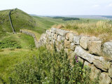 Hadrian's Wall  Near Housesteads  Unesco World Heritage Site  Northumberland  England