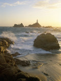 Corbiere Lighthouse  St Brelard-Corbiere Point  Jersey  Channel Islands  United Kingdom