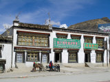Street View  Shegar  Tibet  China