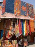 Carpets  Place De Criee  Souks  Marrakech  Morocco  North Africa  Africa