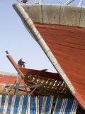 Boat Building  Essaouira  Morocco  North Africa  Africa