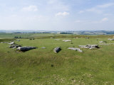 Ancient Stone Circle Dating from Around 2500 Bc  Arbor Low  Derbyshire  England