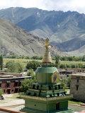 Stupa  Samye Monastery  Tibet  China Asia