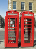 Telephone Boxes  London  England  United Kingdom
