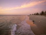 Sunset  Brighton Beach  Adelaide  South Australia  Australia