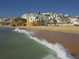 Fishermans Beach  Albufeira  Algarve  Portugal