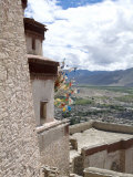 View from Fort  Gyantse  Tibet  China