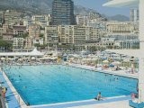 Stade Nautique Rainier III (Huge Public Swimming Pool)  Condamine  Monaco