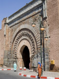 City Gate Near Kasbah  Marrakech  Morocco  North Africa  Africa