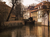 Grand Prior's Mill (Venice of Prague)  Kampa Island  Prague  Czech Republic