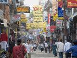 Thamel  the Commercial Tourist Area  Kathmandu  Nepal